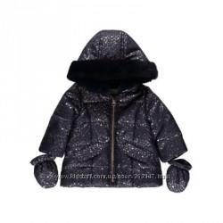 Зимняя куртка на малышку 6-9 м George