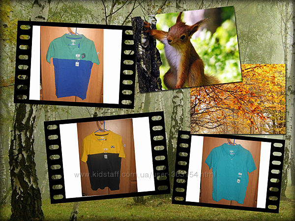 футболки-поло OSHKOSH на 9-12лет