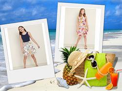 летние трикотажные  платья - сарафаны