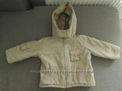 Куртка Mothercare 12-18 месяцев в хорошем сост. утепленная