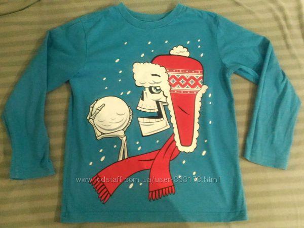Регланы в ассортименте футболки длинным рукавом Childrens Place размер 7-8