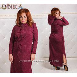 f507399d9e2532f Платье ангора в пол с капюшоном батал, 550 грн. Женские платья ...