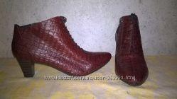 фирменные туфли полуботинки Gerry Weber Laura   натуральная кожа  размер 39