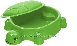 07-518 Песочница-бассейн черепашка с крышкой StarPlay