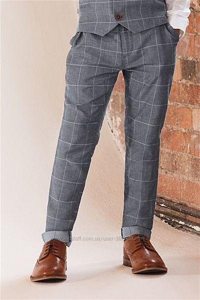 Стильные новые брюки Next 128 размер по цене распродажи