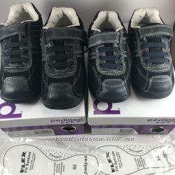 НОВЫЕ Детские туфли из натуральной кожи Pediped Flex Carson размеры 25 и 28
