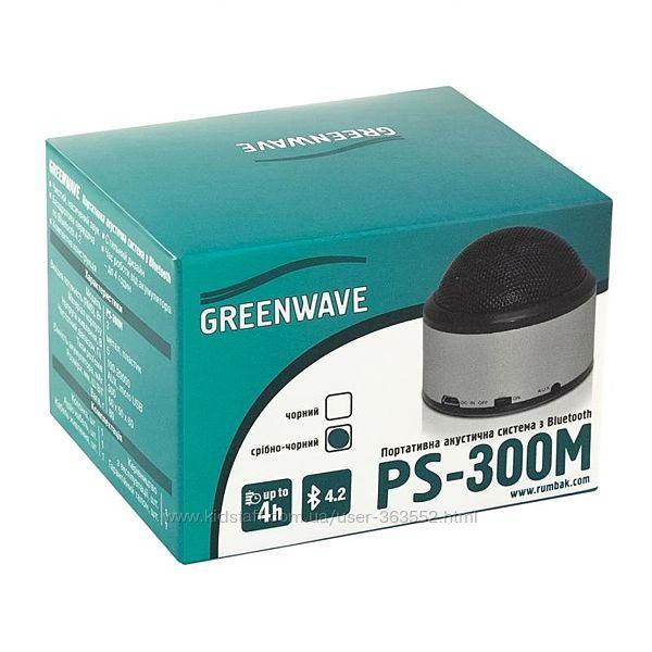 Портативная акустика GREENWAVE PS-300M, серый
