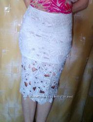 Сексуальная модная кружевная летняя юбка 42-46 р.