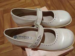 Туфли RICHTER из натуральной кожи, размер 35, стелька 22.5