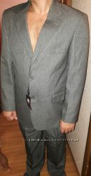 Новый Деловой мужской костюм р. 48