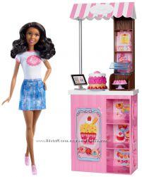 Барби и магазин пирожных.