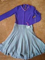 Платье бальное танцевальное