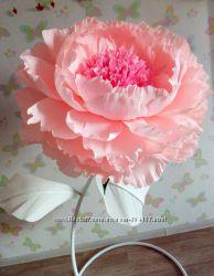 Ростовые бумажные цветы для фотосессии и декора