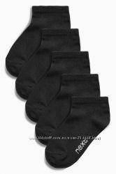 Спортивные носки от Next черные. В наличии.