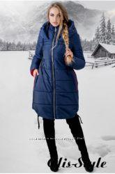Отличные теплые удлиненные куртки на зиму-есть и большие размеры