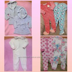 Мягенькие халатики и пижамки на 3-6лет