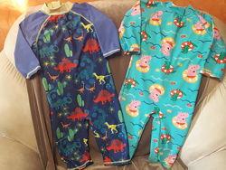 Солнцезащитные костюмчики, комбезики и плавочки на 0-6-9-12-18м. и 2-3-4-5