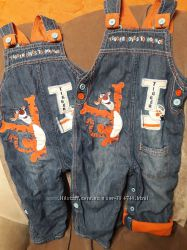 Комбезики и джинсики на 12-18-24мес.