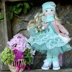 интерьерная кукла, может стать вашим оберегом
