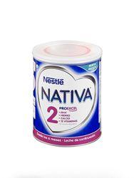 Молочная смесь Nestle NATIVA. Испания