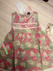 Платье хлопковое 2г