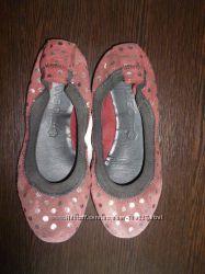 Замшевые балетки для девочки Mango 30 размер 18, 7 см