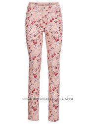 Романтичные джинсы в цветочек