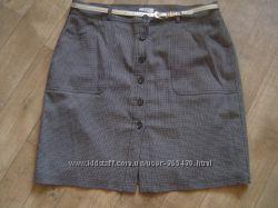 Строгая неклассическая прямая юбка