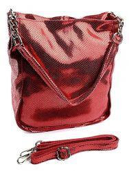 Блестящая сумка кожа