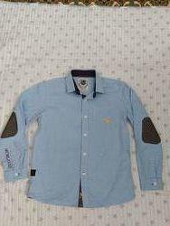 Рубашка стильная Next р. 134см, на 9 лет, состояние идеальное