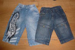 Бриджи джинсовые р. 128-140 на 7-10лет