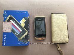 Сенсорный телефон Nokia Asha 308 на запчасти
