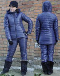 Женские зимние костюмы на синтепоне