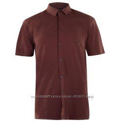 Мужская рубашка  M L Качество - бомба Pierre Cardin