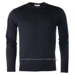 Черный свитер Versace Collection L XL XXL Оригинал. 100 Lana Wool шерсть