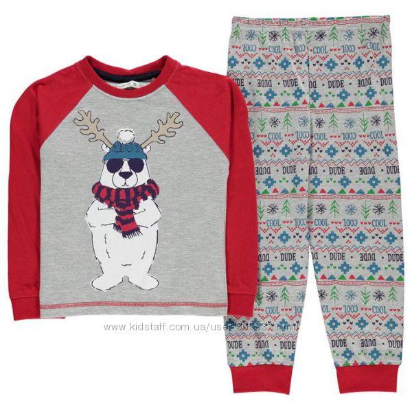 Окончательная распродажа фирменные пижамы Англия 2-3, 3-4 г 100 cotton