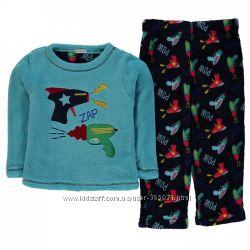 Распродажа фирменных пушистых пижам Англия 3-11 лет мегакачество