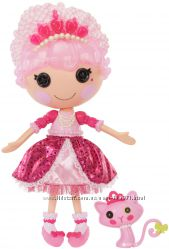Редкая кукла Lalaloopsy Принцесса - Блестинка с аксессуарами и котенком