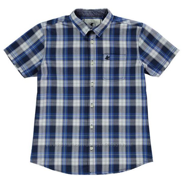 Фирменная рубашка 13 лет SoulCal Англия 100 проц cotton