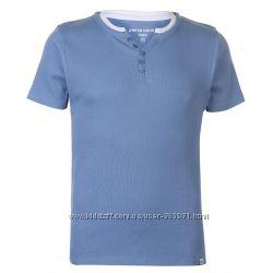 фирменная футболка  в рубчик 100пр cotton  Pierre Cardin Англия XL, XXL