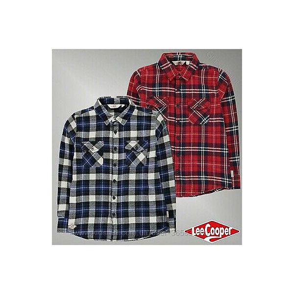 Фланелевые рубашки Lee Cooper Англия 7-13 лет распродажа