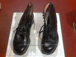 Ботинки мужские кожаные новые