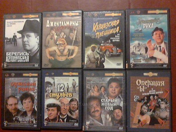 КИНО. DVD диски. Издательства Крупный план и Twister
