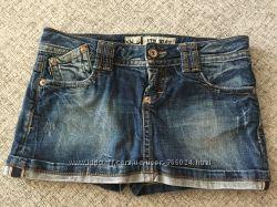 Юбка-шорты джинсовая LTB