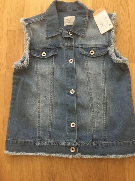 Жилет жилетка джинсовая DeFacto новая рост 152-156 см