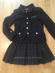 Костюм школьный Helena тройка, рост 122 костюм