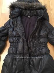 Куртка утеплённая Zara рост 140 см