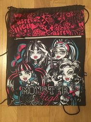Рюкзак-мешок  спортивная сумка для физкультуры  сумка для обуви Monster h