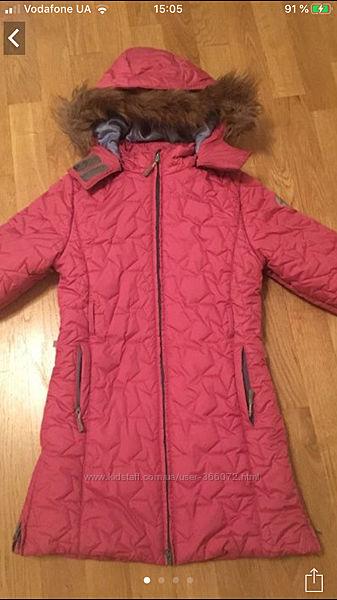 Куртка парка пальто Huppa зимняя, аналог Reima Lenne