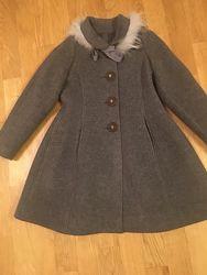 Пальто Mi mi sol Италия рост 128-134 см Новое